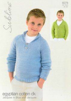 Sublime--Jacques and Jacques in Blue (ages 2 - 12)