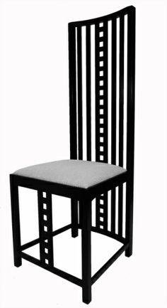 Hill House Chair- Charles Rennie Mackintosh, 1904, Great Britain