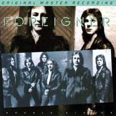 """Foreigner Double Vision on Numbered Limited Edition Hybrid SACD from Mobile Fidelity Epitome of Catchy, Punchy, Memorable, Album-Oriented 70s Rock """"Hot Blooded,"""" """"Double Vision"""" Among Huge Hits That P"""