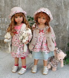 Авторские куклы Анжелы Саттер.. Обсуждение на LiveInternet - Российский Сервис Онлайн-Дневников