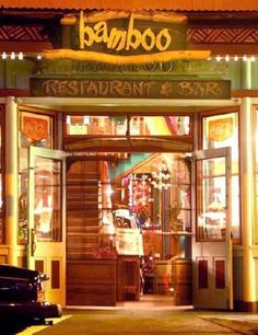 Hawi Town and the Bamboo Restaurant and Bar