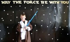 @Elizabeth Lamb said to   @Katy Crookston: Saw this and thought it had a lot of cute ideas. On the bottom of the link click the part that says starwars part 2, it had really cute game ideas. You are awesom to do this. I also liked this backdrop and you could take pictures of the kids doing mind force tricks by hanging (pretend floating) something and take a picture.