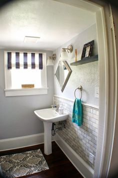 Complete Bathroom Remodel with Marble Subway Tile