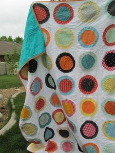 Quackadoodle Quilt: Circles