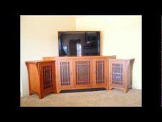 stickley tv lift corner cabinet