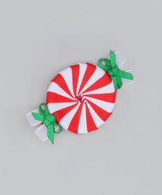 Red Peppermint Clip on #zulily