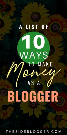 Make Money Blogging, Make Money From Home, Way To Make Money, Make Money Online, Home Based Business, Online Business, Business Ideas, How To Start A Blog, How To Make