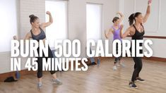 Burn 500 Calories in 45 Minutes With This Cardio and Sculpting Workout ...