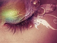 #EtherealMakeup - perfect for a fairy on Halloween