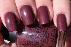 I'm Fondue of You  e-polishblog: OPI La Collection De France Swatches - Fall/Winter 2008 - Part 2!