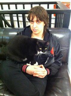Ju + cat = ♥