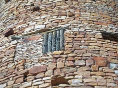 "The use of native wood at Desert View Watchtower.  Architect Mary Colter.  Oh, yes, this is WPA so another example of ""government work.""  Still standing and millions of tourists later very popular."