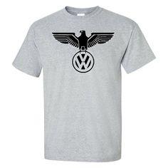 dc9640b69 Graphic Tees Iconic - VW German Eagle Shirt - Custom Volkswagen Printed T- Shirt - CS182T29LLG