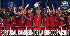 #Euro2016Final La selección de #Portugal de #CristianoRonaldo venció a #Francia con gol de #Éder en el segundo tiempo extra y se coronó campeón de la #Eurocopa2016.  Portugal ha conseguido por primera vez en su historia la Eurocopa y se convierte en la décima selección que gana el torneo continental.  Parabens Portugal!!!