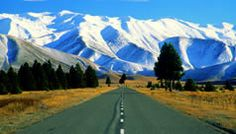 I dnt actually know where this is but looking at id say its heading out of christchurch across the canterbury plains towards the west coast...an amazing road trip...