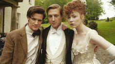 I wish they'd dress up more in period clothing on Doctor Who