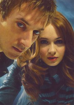 Doctor Who Conpanions - Amy Pond and Rory Williams (Karen Gillan & Arthur Darvill)