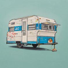 Travel Leaves A Mark   Illustrator: Kevin Cyr