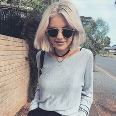 Laura Jade Stone wearing our 'Anna Sweater in Grey' | Scandinavian Style | #laurajadestone