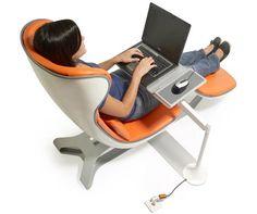 Designed by Manuel Saez for Humanscale, a popular manufacturer of ergonomic office furniture.