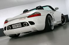 Porsche Boxster 986 modified