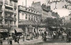 Le Théâtre du Gymnase sur le boulevard de Bonne-Nouvelle, vers 1900 (Paris 2ème/10ème)