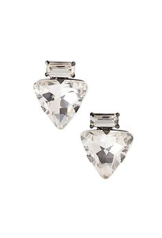 Geo Faux Stone Studs   Forever 21 - 1000096387