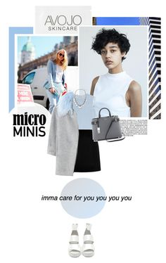 """""""Micro Mini Skirt"""" by s-thinks ❤ liked on Polyvore featuring Damaris, Marc by Marc Jacobs, Marc Jacobs, Rebecca Taylor and Michael Kors"""
