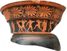Greek Pottery: Ancient Decorative Greek Vases, Roman and Grecian Urns