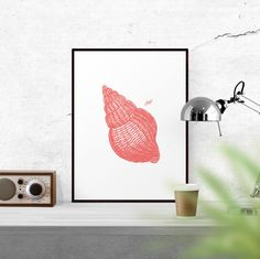 New to WallCandyPrintables on Etsy: Sea Shell Art Nautical Art Ocean Art Home Decor Printable Art Digital Download Coral Print Wall Decor Digital Download Vintage Art (5.00 USD)