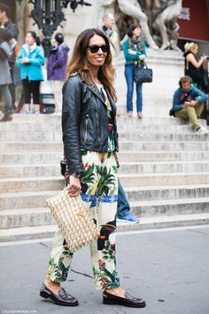 another great combo from Vivs. Paris. #VivianaVolpicella