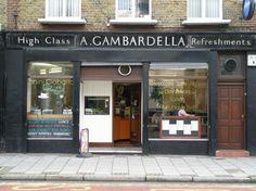 London's Best Vintage Coffee Shop http://vintageindustrialstyle.com/london-vintage-coffee-shop/