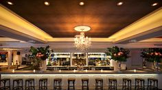 Restaurant, Event Space in New York, New York: Bagatelle has the perfect ambiance and decor to host your event during this holiday season! The main dining area of ...