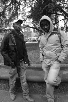 Salif and Mohammed photographed by LC https://www.behance.net/LorenzoColumbo