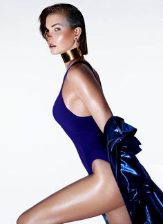 Karlie Kloss Models Summer Beauty for The Sunday Times Style - Fashion Gone Rogue: The Latest in Editorials and Campaigns