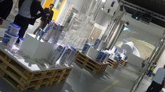 Da Mapei al pad. 29 atmosfere industriali e led wall.  #Cersaie2015 #MCaroundCersaie