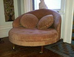 Milo Baughman Mid Century Modern Round Lounge Chair Thayer Coggin | eBay, 500 €