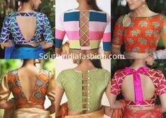Latest Blouse Neck Designs, Simple Blouse Designs, Stylish Blouse Design, Blouse Designs Catalogue, Cotton Saree Blouse Designs, Kurta Designs, Blouse Patterns, Couture, Blouses