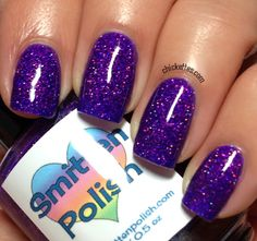 Chickettes.com Smitten Polish - Hocus Pocus Swatch - Indie Polish