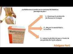 metformina para bajar de peso como funciona el cuerpo