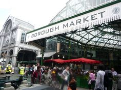London Bridge's Borough Market:  London, UK - a gourmet's haven with  luxury cheeses, artisan breads, international delicacies and sweet treats