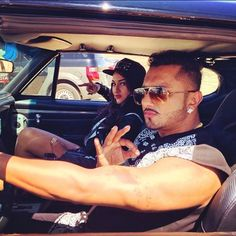 Gangsta couple on the run! #Superstar #DesiKalakaar #yoyohoneysingh.