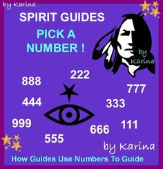 Spirit Guide Number Meanings