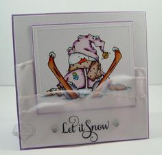 Let It Snow by Twinshappy - Cards and Paper Crafts at Splitcoaststampers
