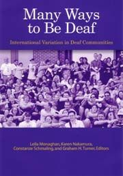 The Deaf Resource Library is a virtual library - an online collection of reference material and links intended to educate and inform people about Deaf cultures in Japan and the United States; as well as deaf and hard of hearing related topics. The information is collected here as a service to the Deaf, hard of hearing, and hearing communities. Another great source of everything to do about deafness can be found at the Laurent Clerc National Deaf Education Center Information on Deafness web…