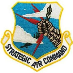 US Air Force Strategic Air Command Patch (Multi), Multicolor(Polyester) Us Air Force, Air Force Bases, Air Force Patches, Army Patches, Strategic Air Command, B 52 Stratofortress, Military Units, Military Art, Military Insignia