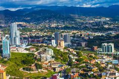 Tegucigalpa, Honduras - was my home for a few years and really can be a beautiful place