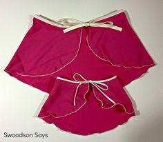 Matching Dance Skirt Set Tutorial