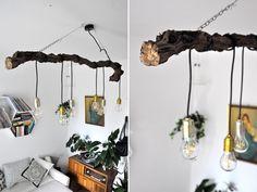 {Guest-DIY} Lampe aus einem Weinstock