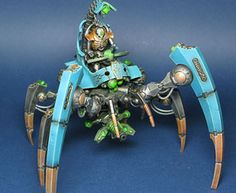 Painted Necron Triach Stalker - This looks amazing!